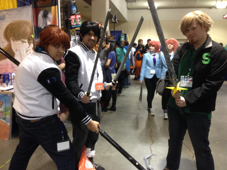 YST Cosplayers at Anime Boston 2017