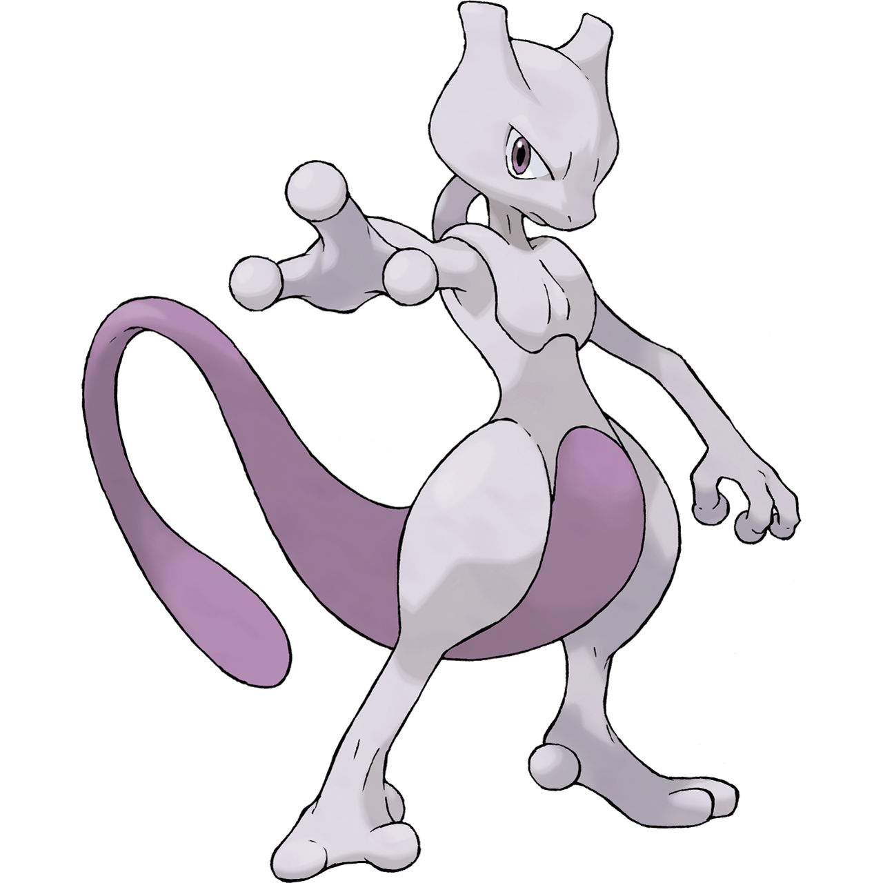 Official Mewtwo art