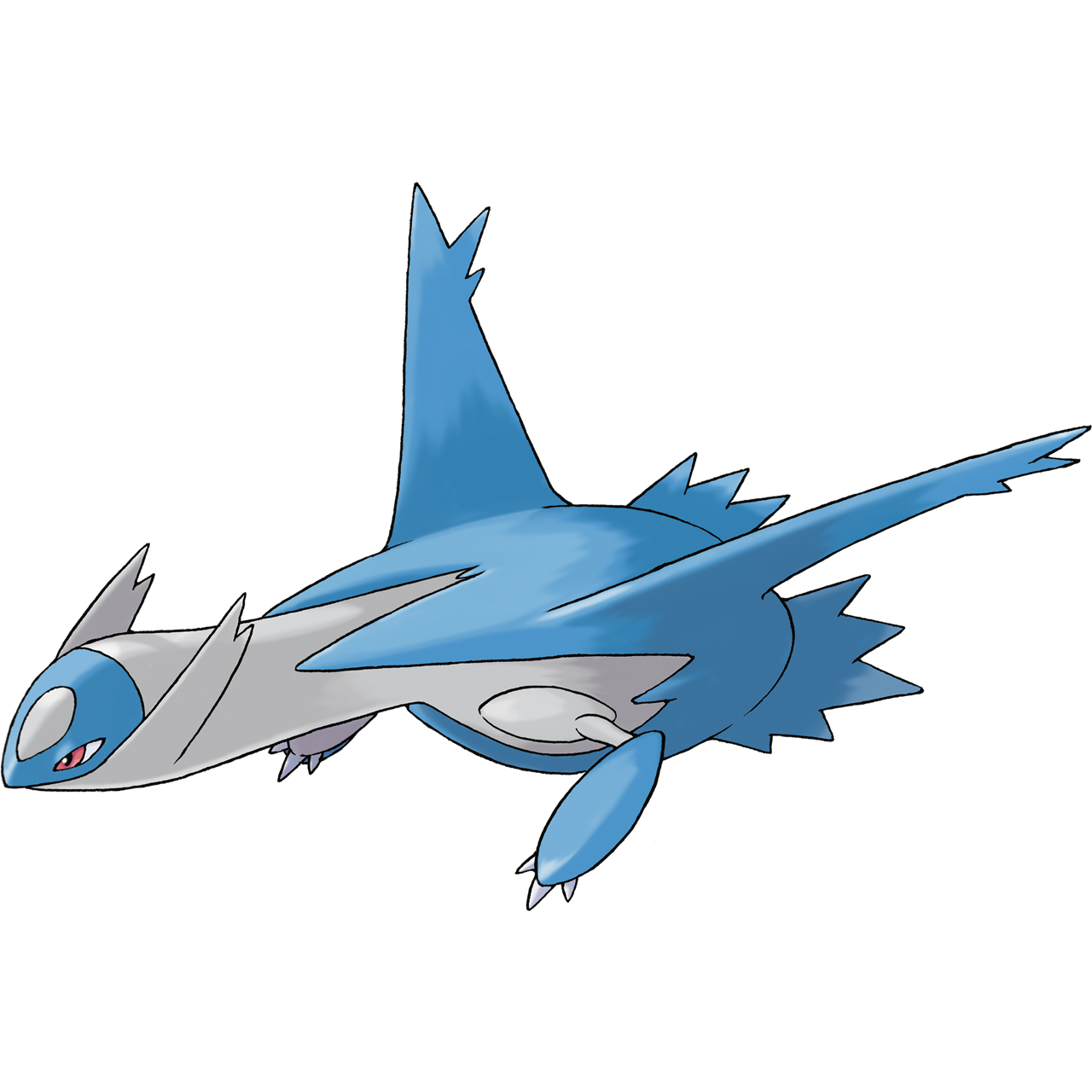Official Latios art