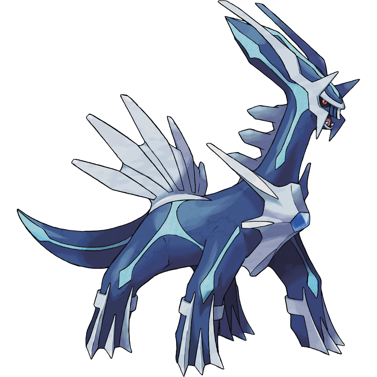 Official Dialga art